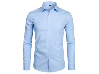 Men Slim Fit Dress Shirts