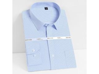 Casual Plaid Striped Basic Shirt