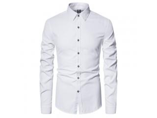 Spring Slim Fit Cotton Shirt