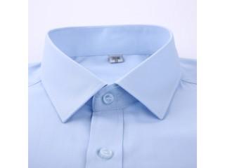 Men Classic Basic Dress Shirts