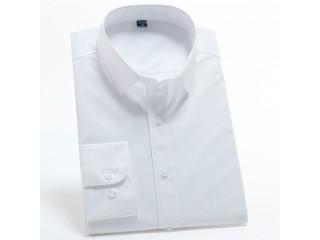 Men Smooth Work Office Shirt
