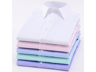 Basic Long Sleeve Dress Shirt