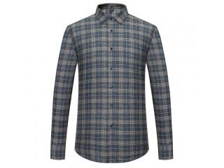 Cotton Brushed Checkered Shirts