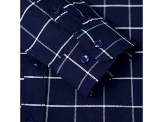 Plaid Tartan Denim Patterned Shirt