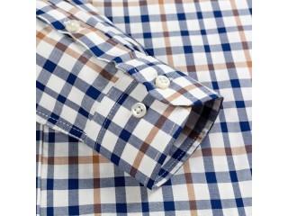 Fashion Textile Patterned Dress Shirt