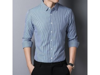 Youth Plaid Shirts For Men