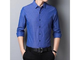 Fashion Striped Shirt Long Sleeve