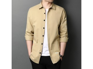 100% Cotton Lapel Cargo Shirts