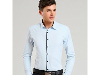 Uniform Patterned Dress Shirt