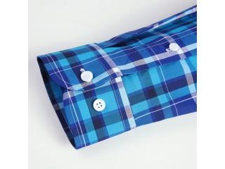 Fashion Checkered Cotton Shirt