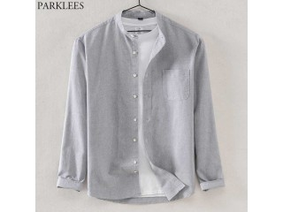 Oxford Long Sleeve Chambray Shirt