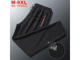 Summer Breathable Sweatpants Men Pants