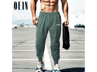 Mens Fitness Trousers Running Pants