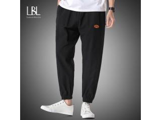Cotton Harem Pants Fashion Streetwear