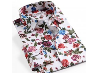 Floral Printed Hawaiian Shirts