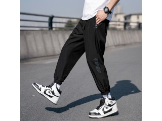 Spring Streetwear Pants Fitness Trousers