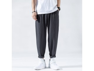 Loose Harem Pants Male Trousers