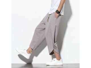 Men Joggers Pants Loose Trouser
