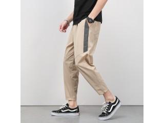 Korean Summer Elastic Casual Trousers