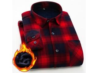 Velvet Thick Warm Shirt