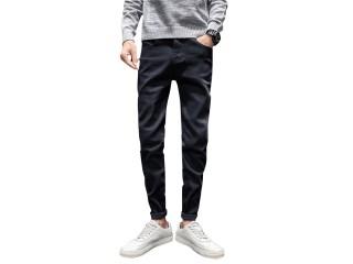 Men Classic Jeans Denim Pants