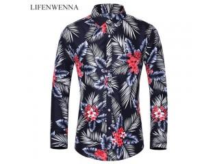 Fashion Flower Printed Shirt