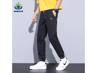 Denim Cotton Pants Embroidery Jeans