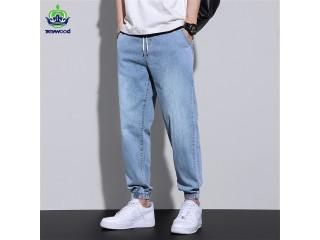 Baggy Jeans Men Korean Pants