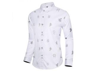 Fashion Printing Fitted Shirt