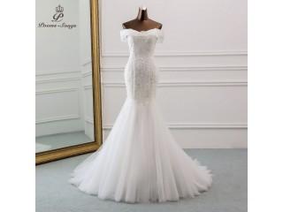 Beautiful Sequined Wedding Dress