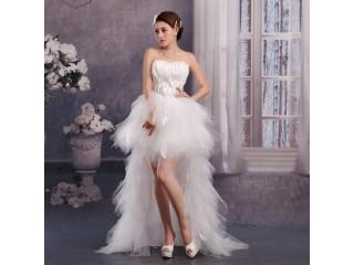 Beautiful Tiered Wedding Dress