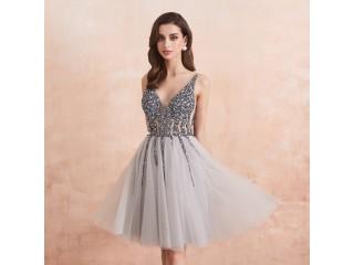 Crystal Short Cocktail Dresses