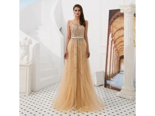 Elegant A Line Evening Dresses