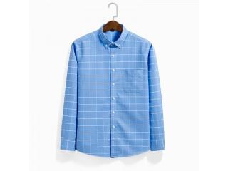Oxford Casual Shirt 100% Cotton Men Dress Shirts