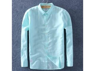 Summer Cotton Linen Shirts Comfortable Undershirt