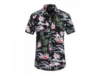 Summer Hawaiian Shirt Floral Printed Casual Shirts