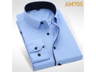 Wedding Shirt Long Sleeve Men Dress Shirt