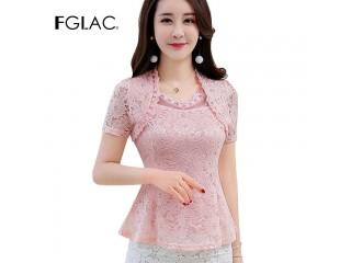 Summer Lace Blouse Shirt