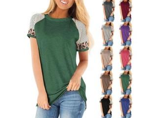 Sexy Leopard Stripe T shirts