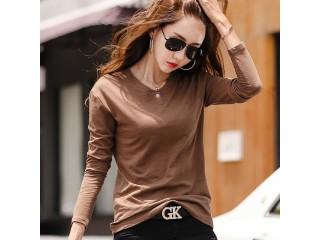 Women Slub Cotton T shirts