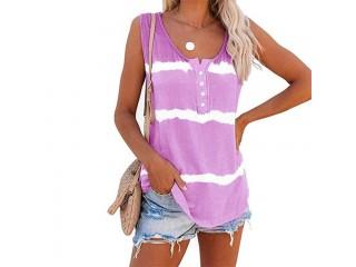 Summer Sleeveless Cotton T Shirts
