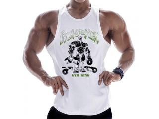 Men Vest Sport Workout Gym Tops