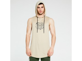 Men Tank Top Gyms Undershirt
