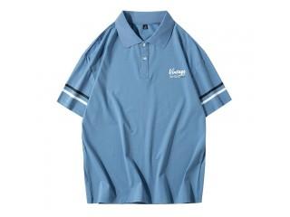 Cotton Men Polo Shirt Tops