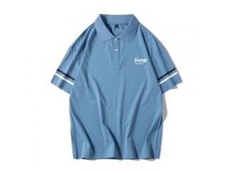 Brand Polo Shirt Short Sleeve Top