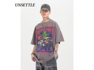 Harajuku T Shirts Gothic Print Tshirt