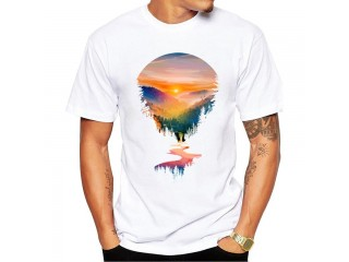Summer Sunrise Men T-Shirt